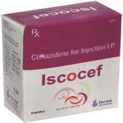 Iscocef 1000 Injection ( Ceftazidime 1 gm )