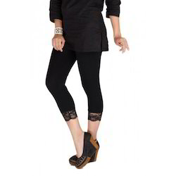 Lace Bottom Legging