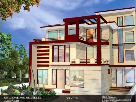 Bungalow Architecture Design Residential Architectural Design