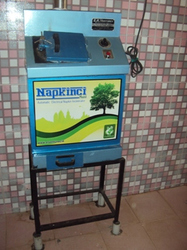 Sanitary Napkin Burner Machine
