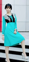 Sky Blue Designer Long Top