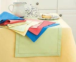 Various Color Available Plain Placemats, Size: 13*19 Inch