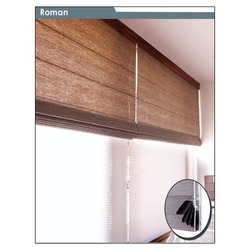 Motorized Roman Blinds At Best Price In India