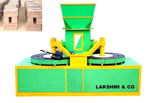 Automatic Twin Table Mould Clay Brick Machine - Lakshmi & Co  ( A