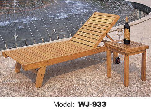 Decent Furniture Wooden Deck Chair, Rs 15500 /unit, Decent Furniture ...