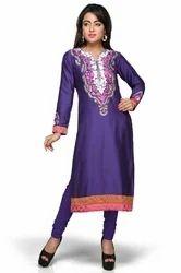 Ladies Designer Party Wear Long Kurta Tunic