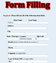 Online Form Filling Weekly Payment
