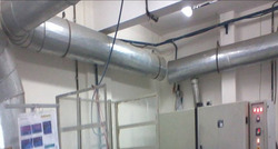 Office Ducting View
