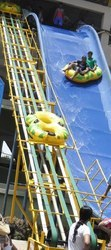 Water Park Belt Tube Conveyor