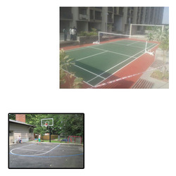Outdoor Sports Rubber Flooring for Sports