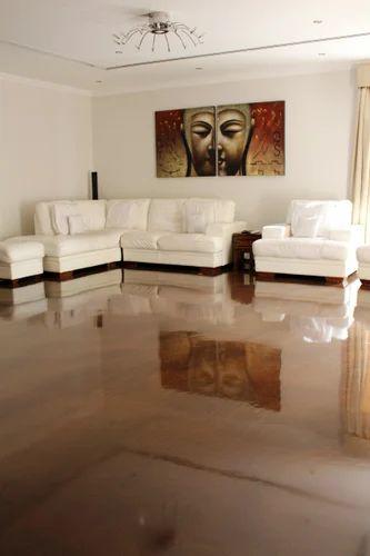 Metallic Expression Flooring, Metallic