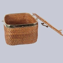 Rectangular Storage Wicker Box