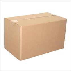 Kraft Paper Rectangular Die Cutting Boxes