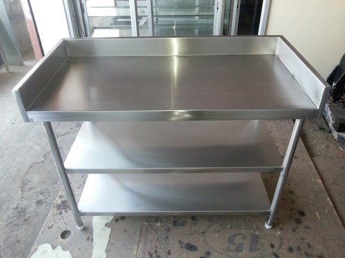 Stainless Steel Stall Working Stainless Steel Tables