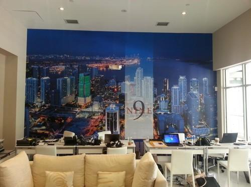 Corporate Office Wall Display Printing Services
