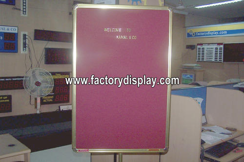 Gold Letter Display Boards