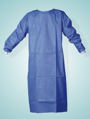 Blue Disposable Surgical Gown