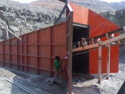 Crusher Plant with Tunnel