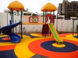 Rubber Flooring for Play Equipment