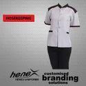 Henex Cotton Housekeeping Uniform, Size: Xl