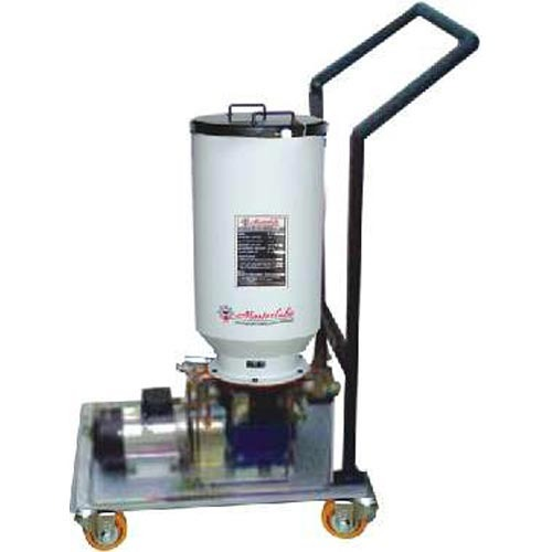 Motorized Mobile Grease Filling System