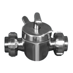 Two Way Plug Valve without Union