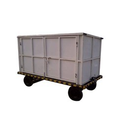 Wheel For Covered Baggage Trolley