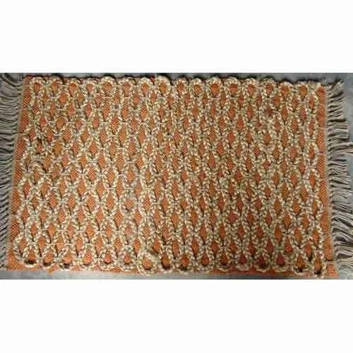 Rectangular Braided Jute Rugs, for Home