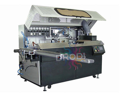 Semi-Automatic Automatic One Color Cylindrical Screen Printing Machine