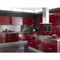 Aluminum Modular Kitchen Designing