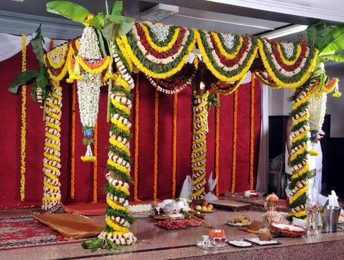 Mandap stage services real flowers wedding mandap wholesaler wedding mandap junglespirit Image collections