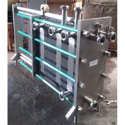 Milk Pasteurizer Plate Pack 1000 Litres Per Hour दूध