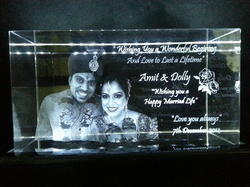 CENTRUMLASER Transparent Personalized Crystal Gifts