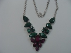 Designer Ruby Necklace