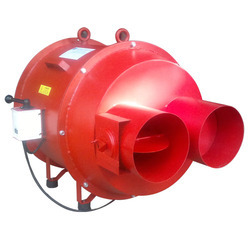Portable Axial Fan, 520 W, Model Name/Number: RK-12