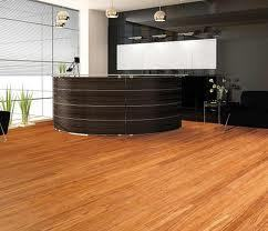 Reception wooden flooring
