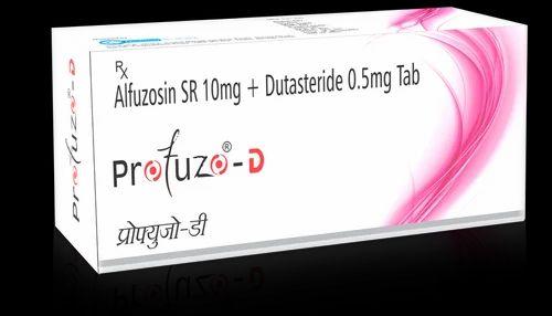 Profuzo D Alfuzosin Sr 10mg Dutasteride 0 5mg Tab À¤¡ À¤Ÿ À¤¸ À¤Ÿ À¤° À¤‡à¤¡ À¤• À¤ª À¤¸ À¤² Neiss Labs Private Limited Mumbai Id 10428564888