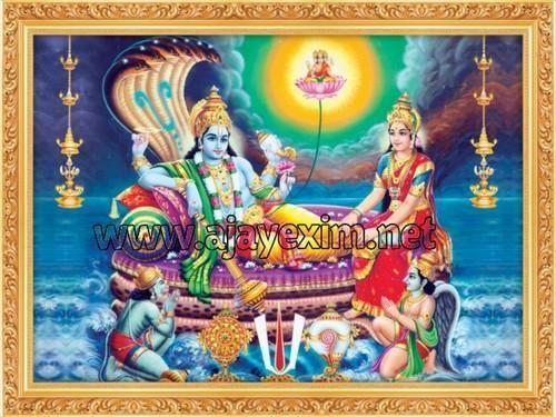 Lord Vishnu Poster At Rs 750 Carton Posters Id 9360231712