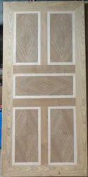Five Panel Wood Door DD004