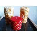 Decorative Pillar Candle