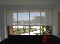 Roller Blinds with Screen Fabric