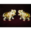 Exclusive Marble Elephants