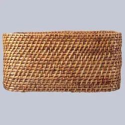 Rectangular Handicraft Laundry Basket
