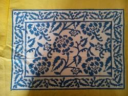 Flower Printed Mat