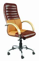 High Back Fixed Arms Executive Designer Revolving Chair