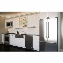 Single Wall Modular Kitchen