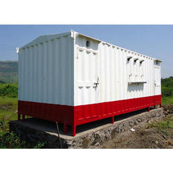 Mild Steel Portable Toilet Cabins