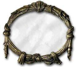 Brass Mirror Design