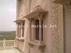 Marble Stone Jharokha