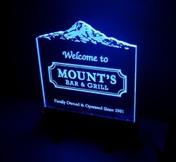Edge Lit Signs at Best Price in India